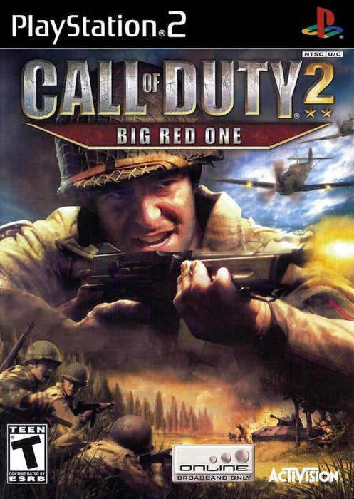 Call of Duty 2 Big Red One - PlayStation 2