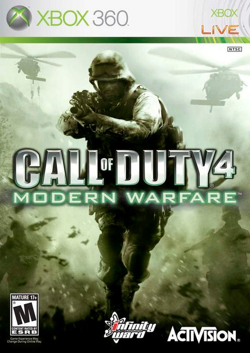 Call of Duty 4 Modern Warfare - Xbox 360