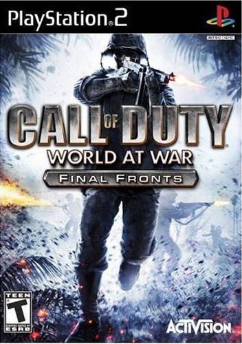 Call of Duty World at War Final Fronts - PlayStation 2