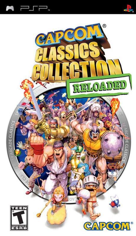 Capcom Classics Collection Reloaded - PlayStation Portable