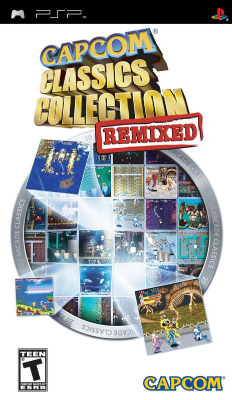 Capcom Classics Collection Remixed - PlayStation Portable