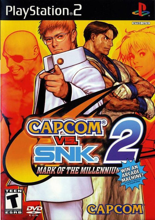 Capcom vs. SNK 2 Mark of the Millennium 2001 - PlayStation 2