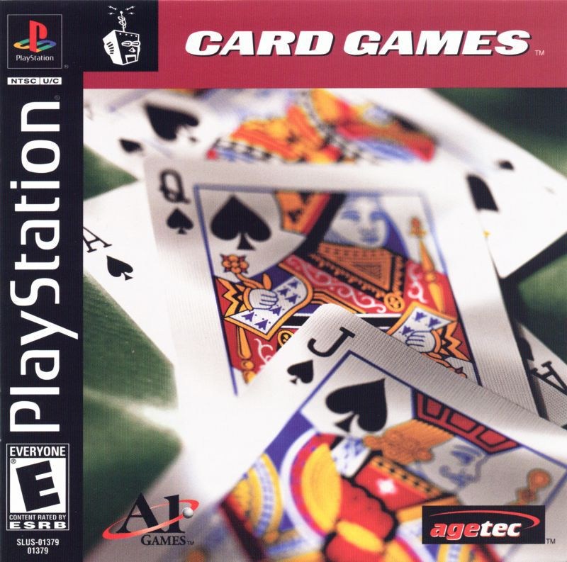 Card Games - PlayStation 1