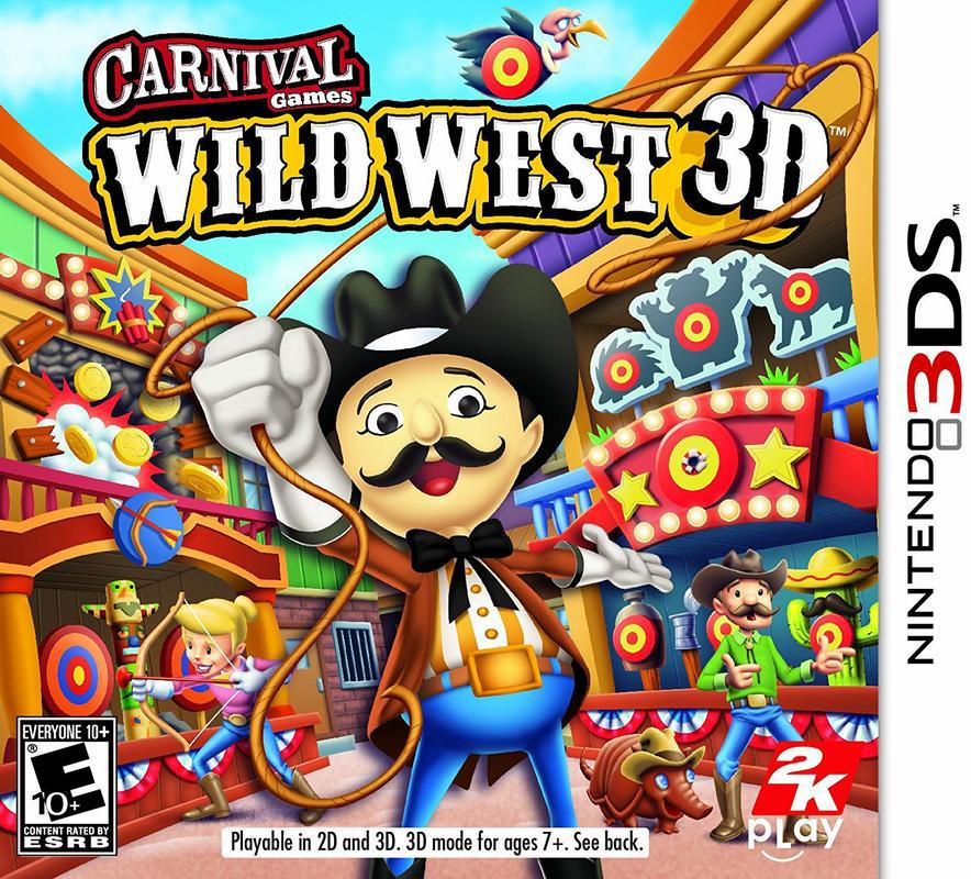 Carnival Games Wild West 3D - Nintendo 3DS