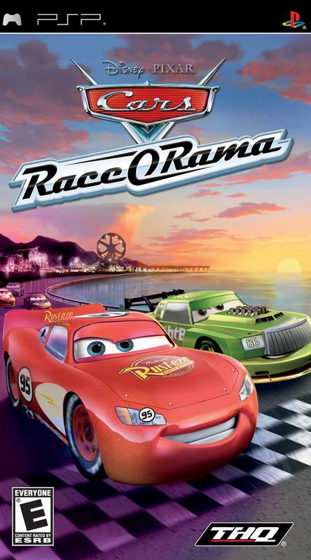Cars Race-O-Rama - PlayStation Portable