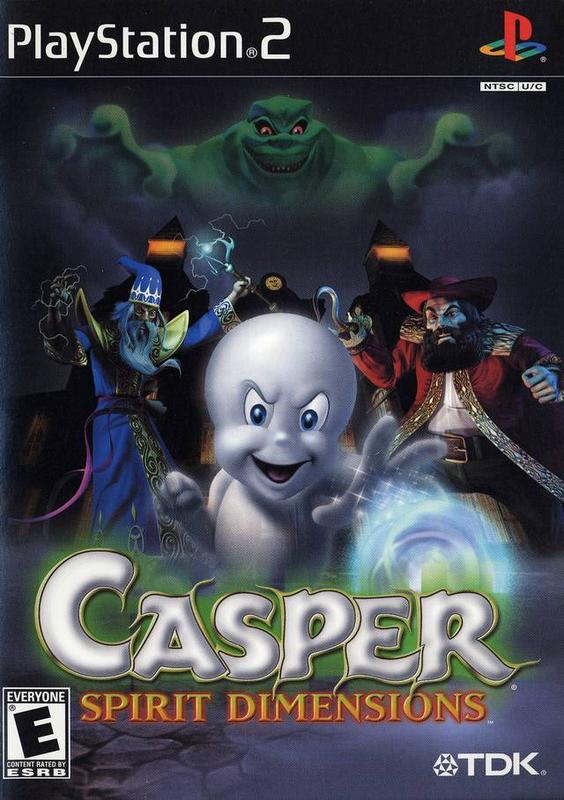 Casper Spirit Dimensions - PlayStation 2