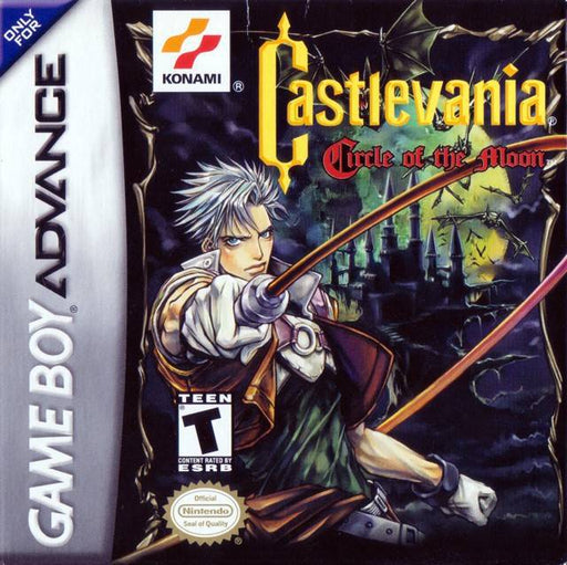 Castlevania Circle of the Moon - Game Boy Advance