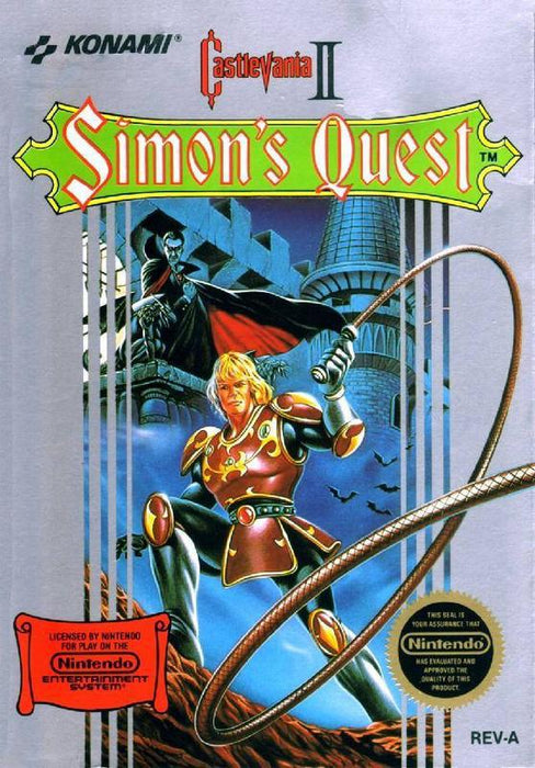Castlevania II Simons Quest - Nintendo Entertainment System