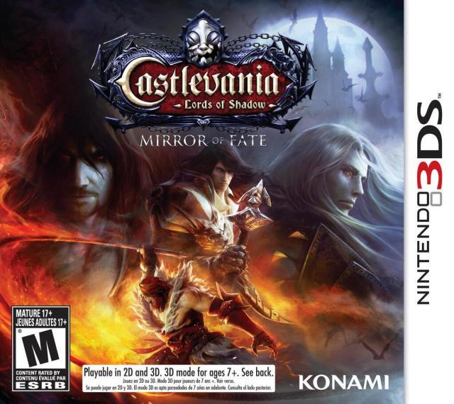 Castlevania Lords of Shadow - Mirror of Fate - Nintendo 3DS