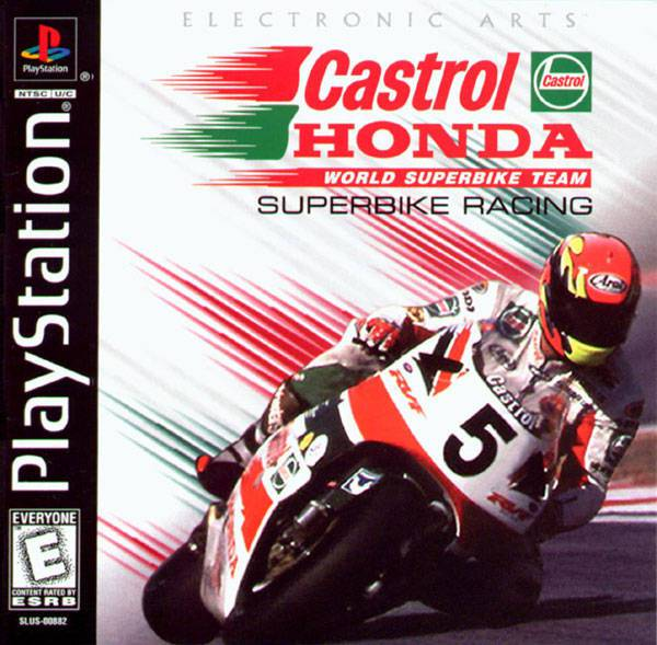 Castrol Honda Superbike Racing - PlayStation 1