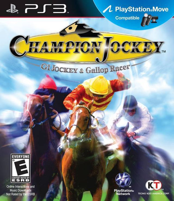 Champion Jockey G1 Jockey & Gallop Racer - PlayStation 3