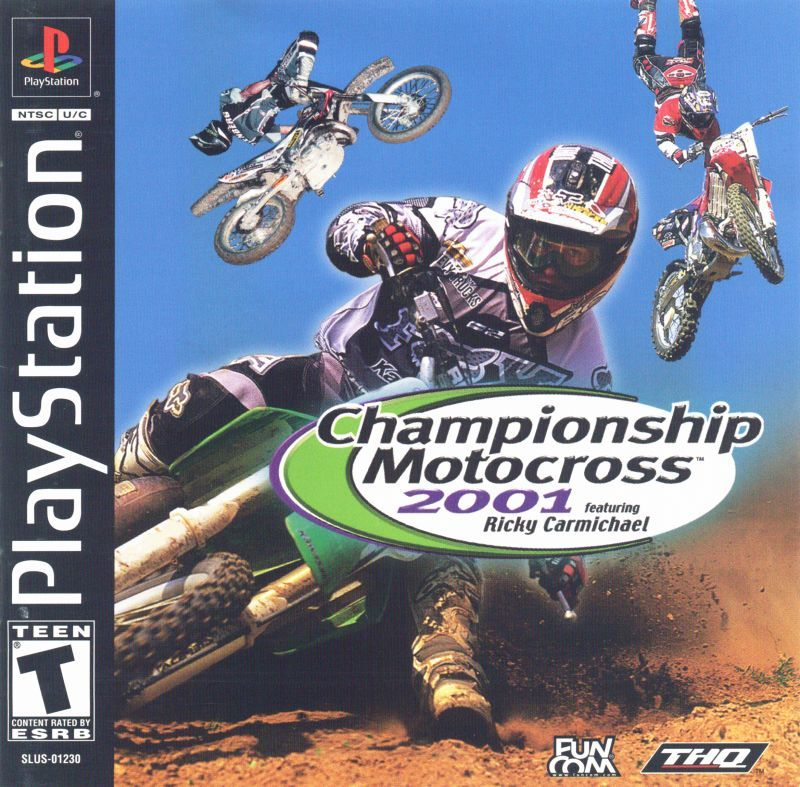 Championship Motocross 2001 featuring Ricky Carmichael - PlayStation 1
