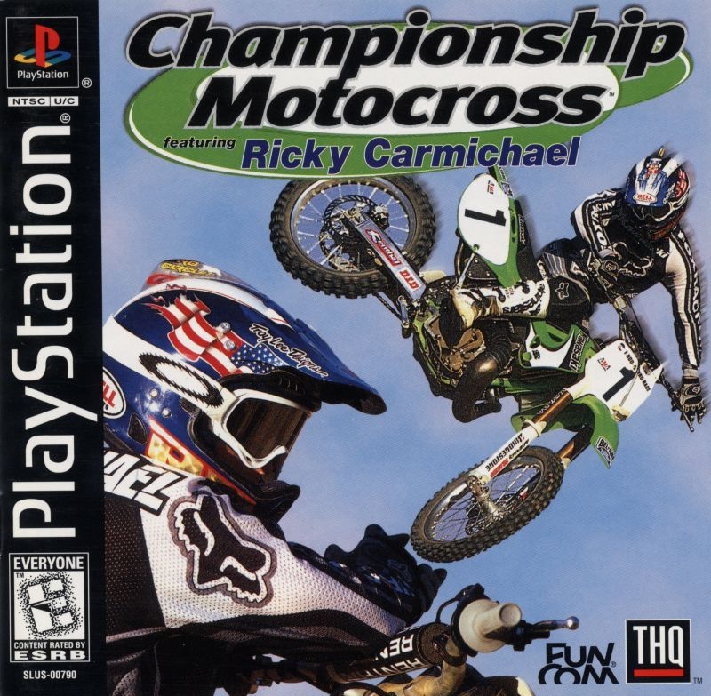 Championship Motocross featuring Ricky Carmichael - PlayStation 1