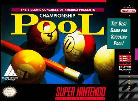Championship Pool - Super Nintendo Entertainment System