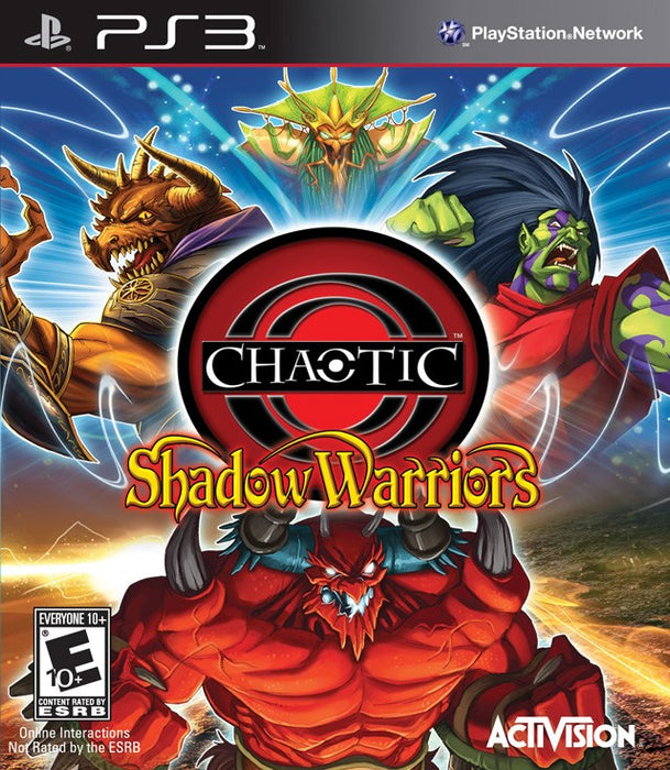 Chaotic Shadow Warriors - PlayStation 3