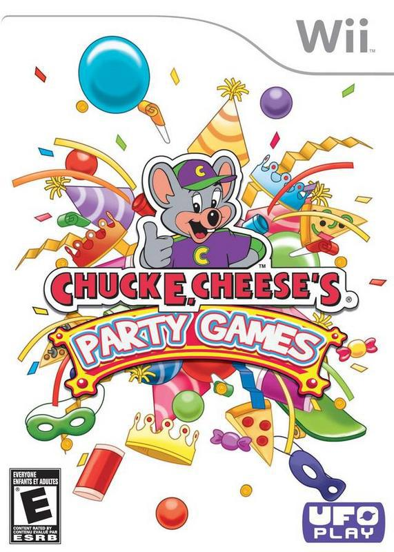 Chuck E. Cheeses Party Games - Wii