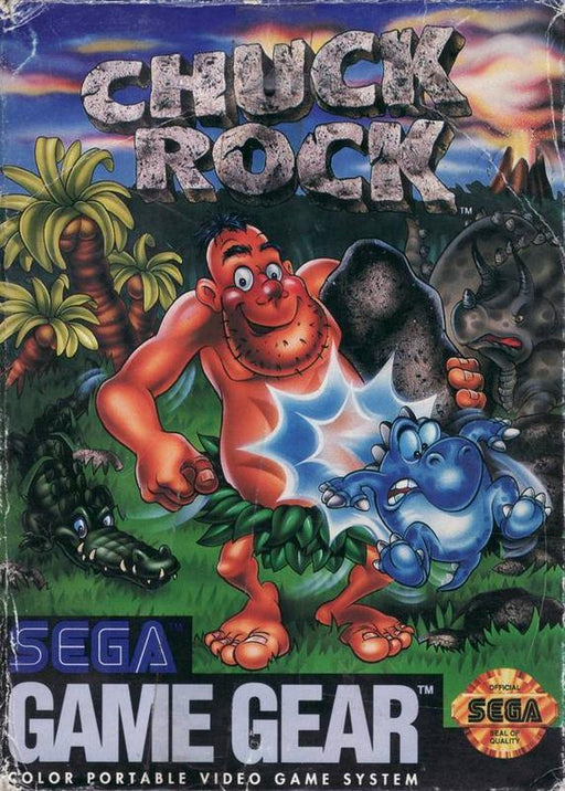 Chuck Rock - Sega Game Gear