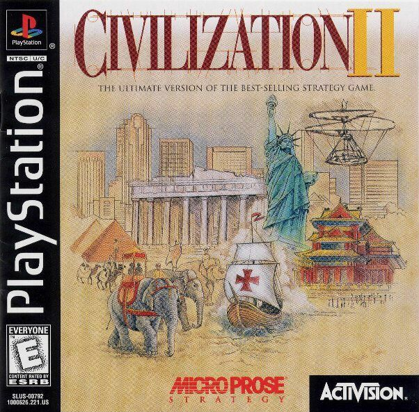 Civilization II - PlayStation 1