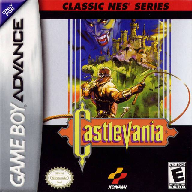 Classic NES Series Castlevania - Game Boy Advance