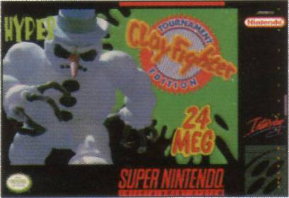 ClayFighter Tournament Edition - Super Nintendo Entertainment System