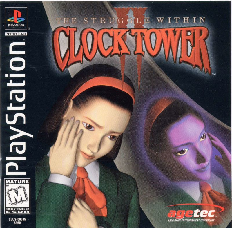 Clock Tower II The Struggle Within - PlayStation 1