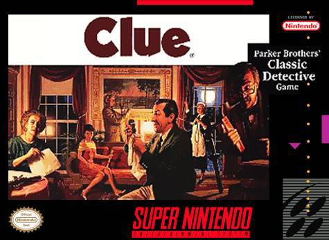 Clue - Super Nintendo Entertainment System