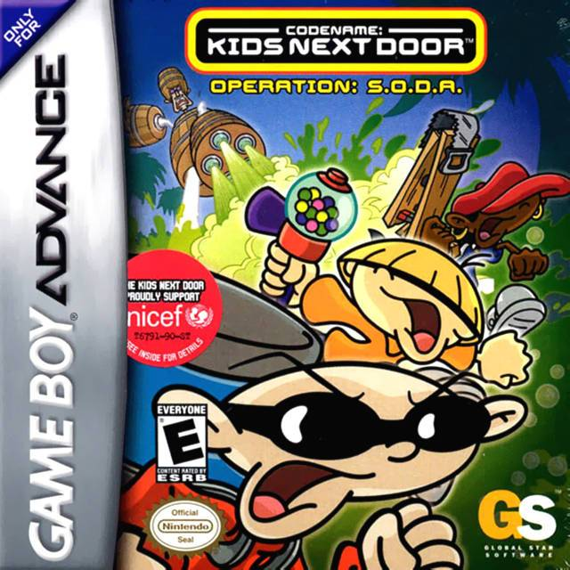 Codename Kids Next Door Operation S.O.D.A. - Game Boy Advance