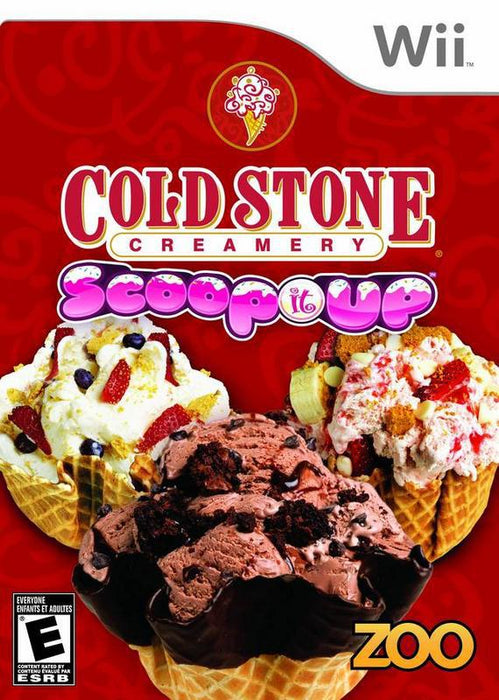 Cold Stone Creamery Scoop It Up - Wii