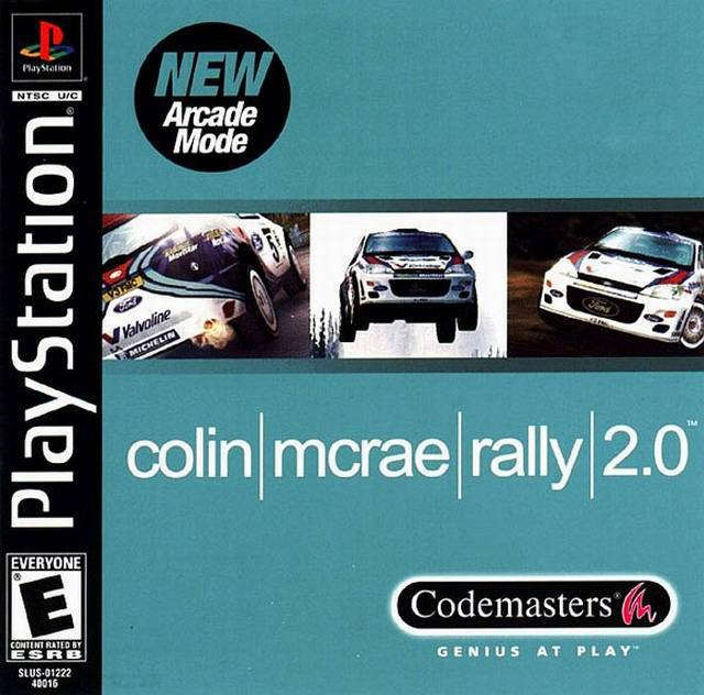 Colin McRae Rally 2.0 - PlayStation 1
