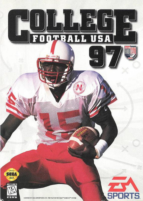 College Football USA 97 - Sega Genesis