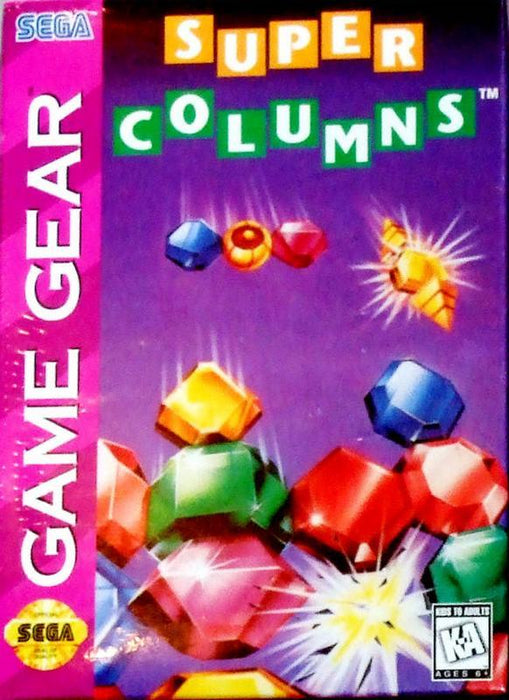 Columns - Sega Game Gear