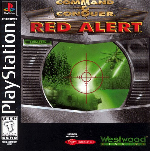 Command & Conquer Red Alert - PlayStation 1