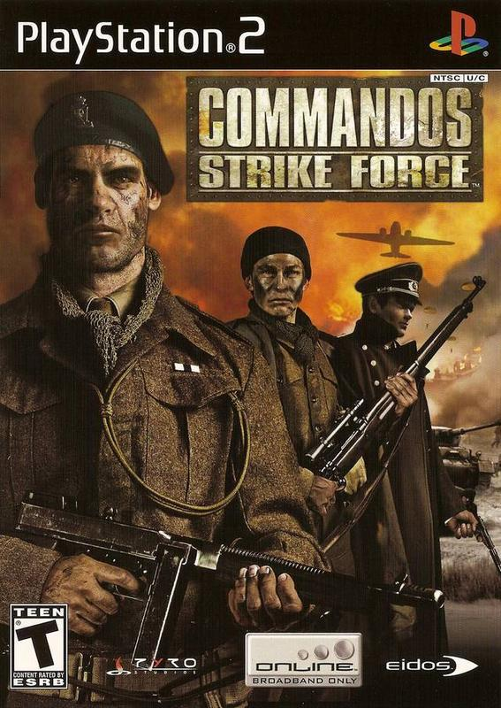 Commandos Strike Force - PlayStation 2