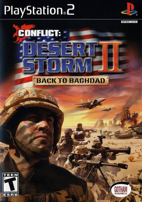Conflict Desert Storm II Back to Baghdad - PlayStation 2