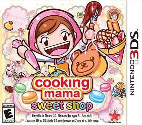 Cooking Mama Sweet Shop - Nintendo 3DS