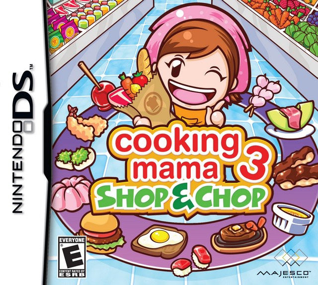 Cooking Mama 3 Shop & Chop - Nintendo DS