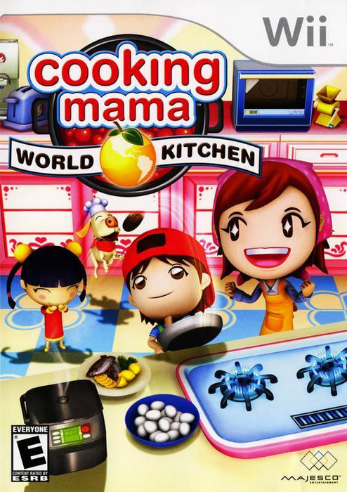 Cooking Mama World Kitchen - Wii