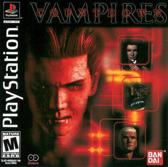 Countdown Vampires - PlayStation 1