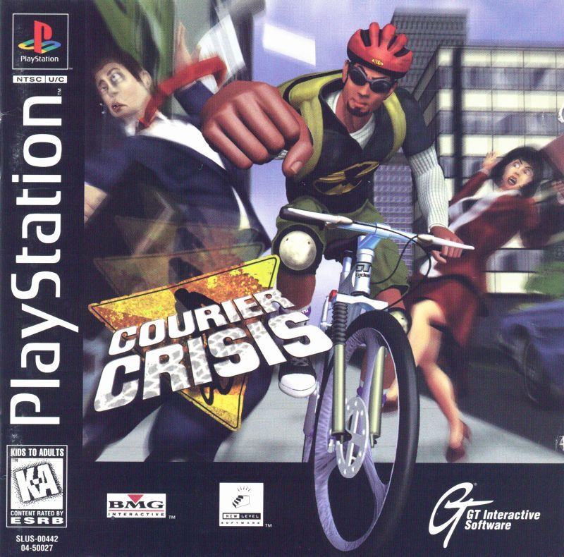 Courier Crisis - PlayStation 1