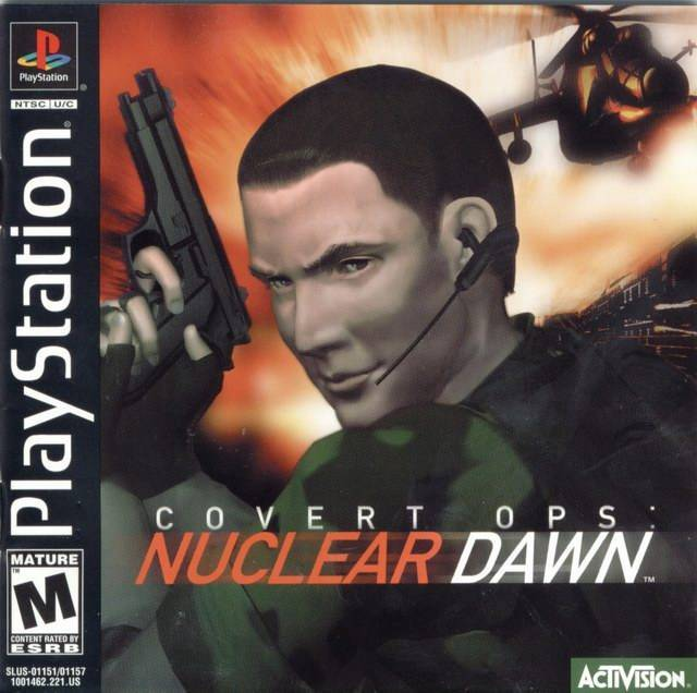 Covert Ops Nuclear Dawn - PlayStation 1