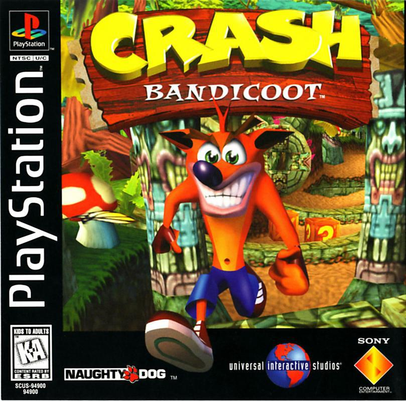 Crash Bandicoot - PlayStation 1