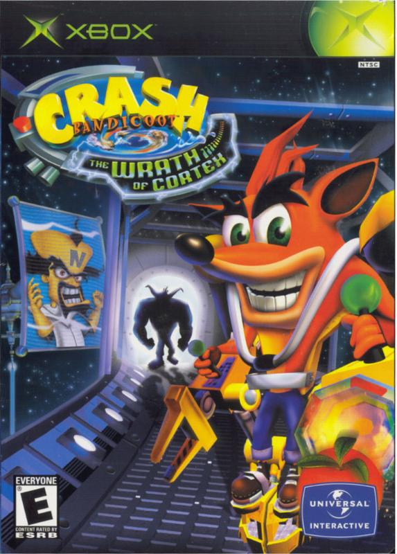 Crash Bandicoot The Wrath of Cortex - Xbox