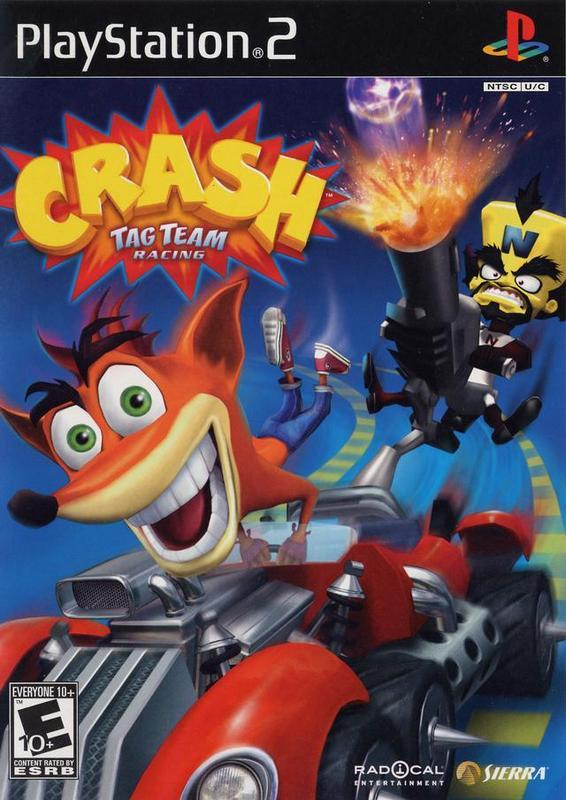 Crash Tag Team Racing - PlayStation 2