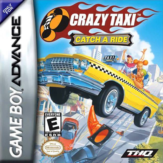 Crazy Taxi Catch a Ride - Game Boy Advance