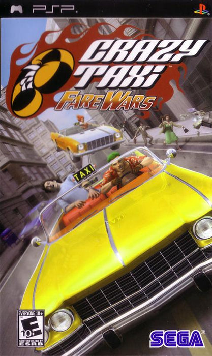 Crazy Taxi Fare Wars - PlayStation Portable