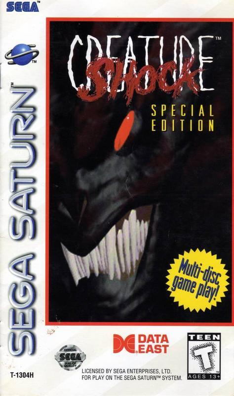 Creature Shock Special Edition - Sega Saturn