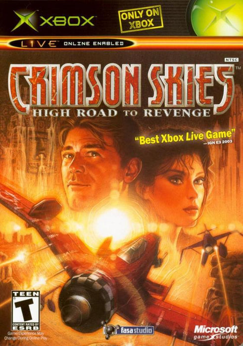 Crimson Skies High Road to Revenge - Xbox