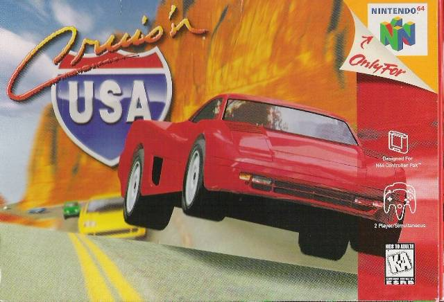 Cruisn USA - Nintendo 64