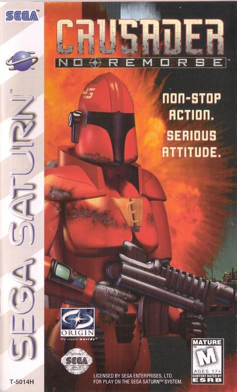 Crusader No Remorse - Sega Saturn