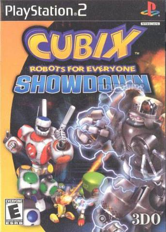 Cubix Robots for Everyone - PlayStation 2